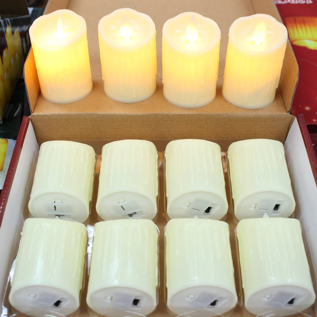 1pc Flickering LED Candle