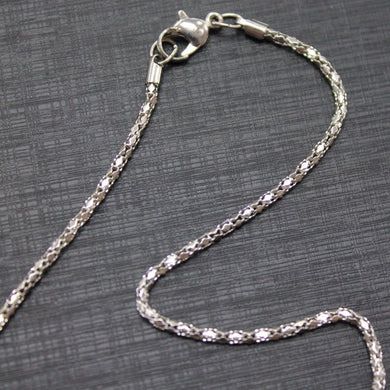 Platinum Silver Necklace Chain