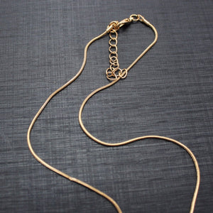 Gold Snake Necklace Chain