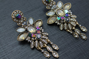 Boho Rhinestone Earrings
