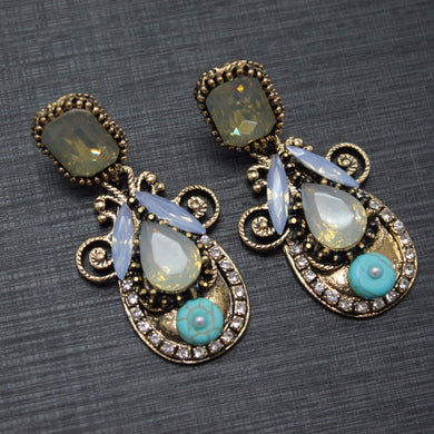 Gem Statement Earrings
