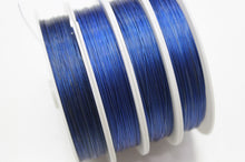 50m Royal Blue Tigertail Wire Roll
