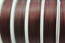 50m Red Brown Tiger Tail Wire Roll