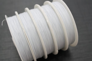 50m White Tigertail Wire Roll