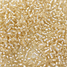 15g Light Gold Round Seed Beads