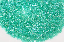 15g Green AB 2 Cut Seed Beads