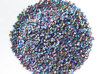 15g Two Cut Blue Iris Seed Beads
