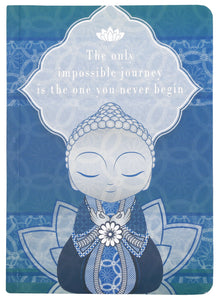 Little Buddha Notebook - Impossible Journey