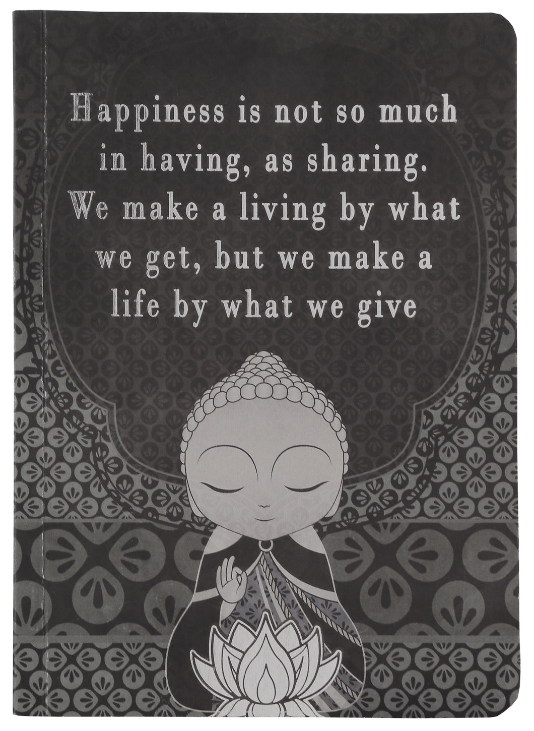 Little Buddha Notebook - Happiness