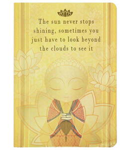 Little Buddha Notebook - Beyond the Clouds