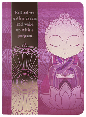 Little Buddha Notebook - Fall asleep with a dream
