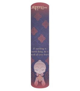 Little Buddha Magnetic Bookmark - If anything is worth doing