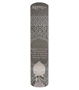 Little Buddha Magnetic Bookmark - Happiness
