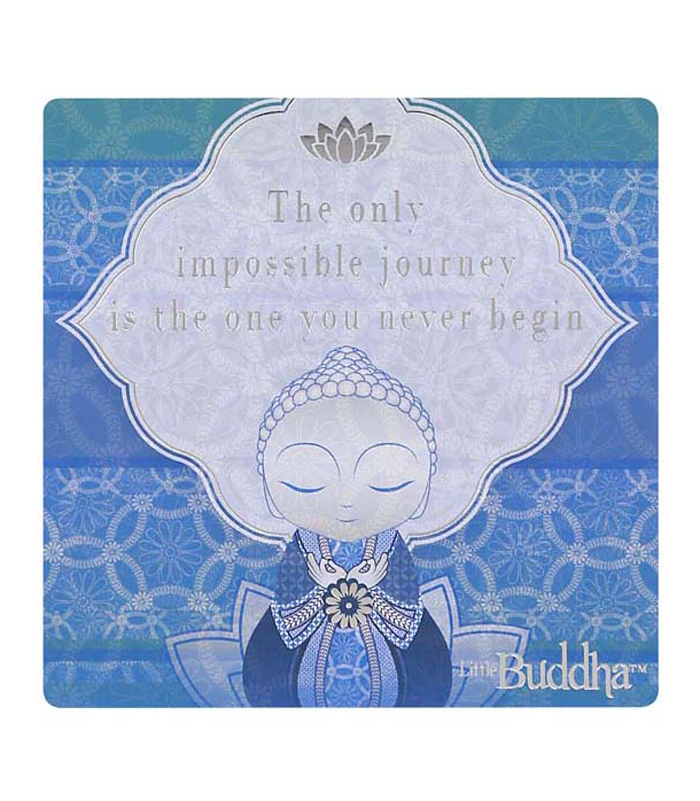 Little Buddha Magnet - Impossible Journey