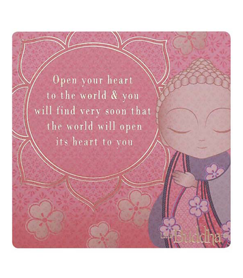 Little Buddha Magnet - Open your heart