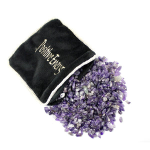 Amethyst Energy Pillow
