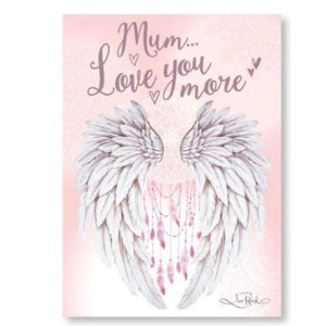 Mum Love You More Affirmation Plaque