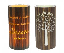 Dreams Cylinder 15cm LED Candle