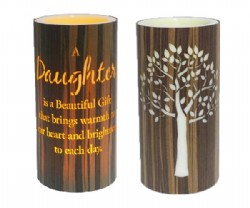 Daughter Cylinder 15cm LED Candle