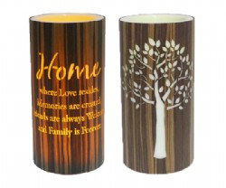 Home Cylinder 15cm LED Candle