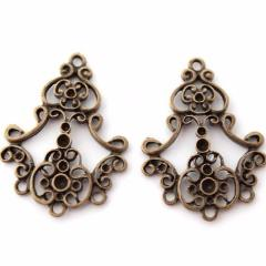 Bronze Chandelier Earring or Pendant