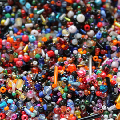 100g Glass Seed Beads Mix