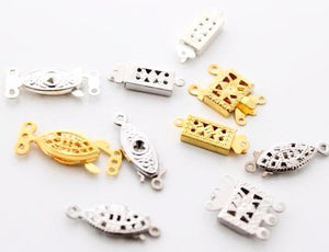 10pc Mixed Box Clasps