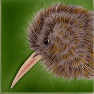 Kiwi Ceramic Art Tile