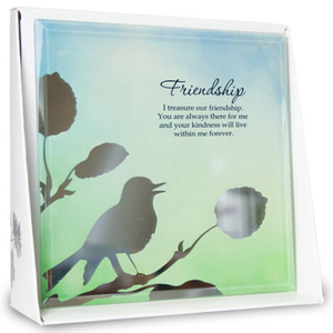 Friendship Mirror Plaque