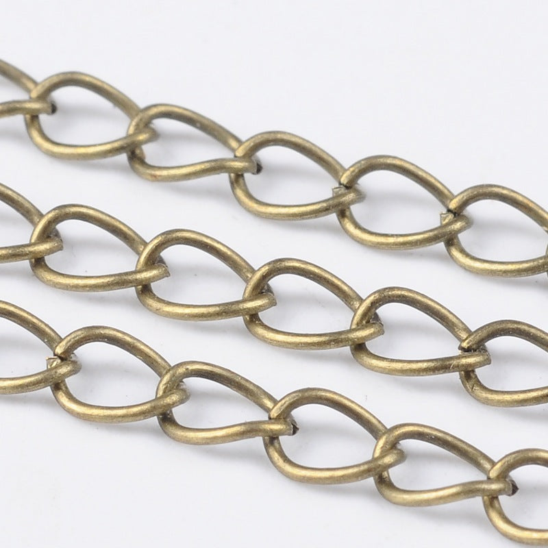 Antique Bronze Twist Chain 1M