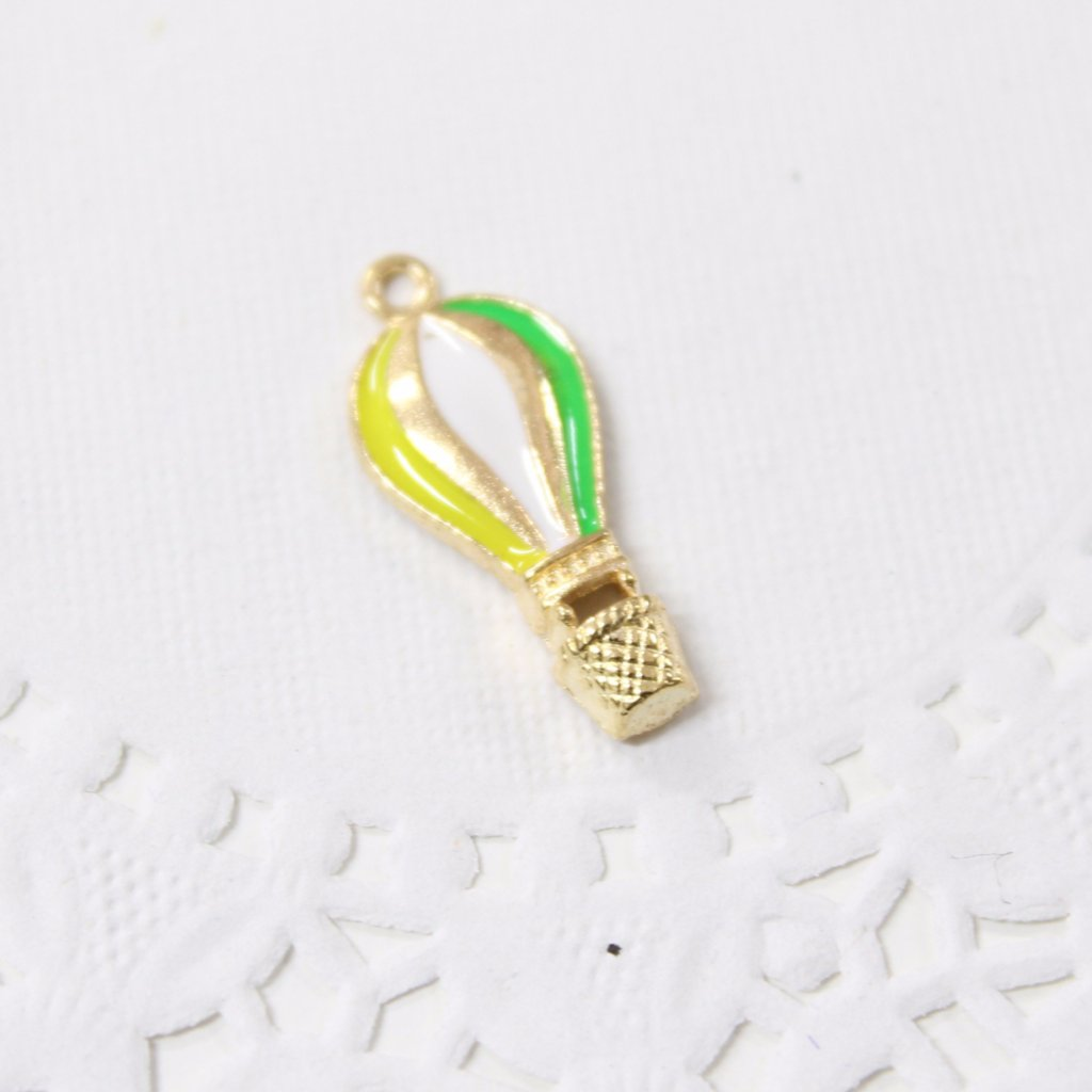 Enamel Hot Air Balloon Charm