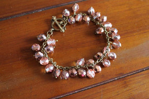Apollo Gold Czech Beaded Bracelet