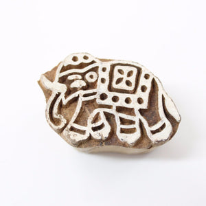 Mini Elephant Block Stamp