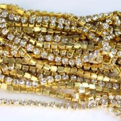 Rhinestone Chain 3mm x 1m