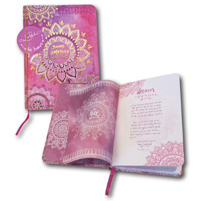 Lisa Pollock Dream Journal Pink Mandala