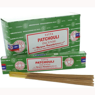Satya Patchouli Incense 15g