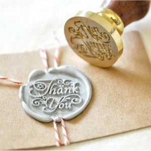 Thank You Wax Seal with Two Wax Sticks