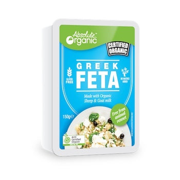 Organic Cheese Greek Feta 150g