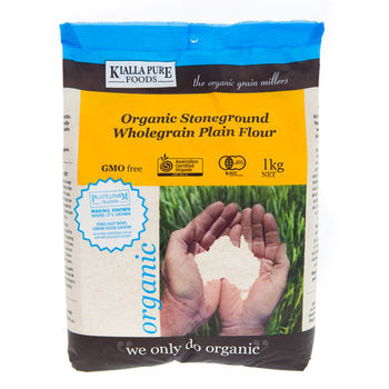 Organic Stoneground Plain Flour 1kg