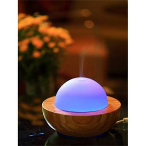 Bamboo and Glass Ultrasonic Diffuser
