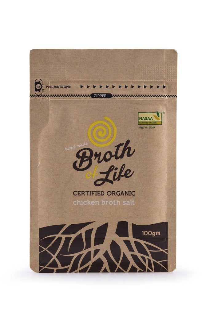 Organic Chicken Broth Salt