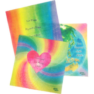 Children's Affirmations Beeswax Wraps