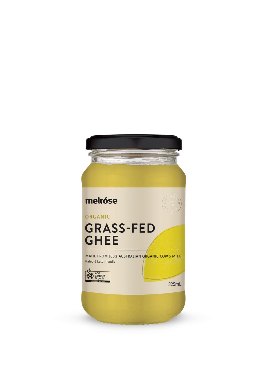 Grass-Fed Ghee Organic 325ml