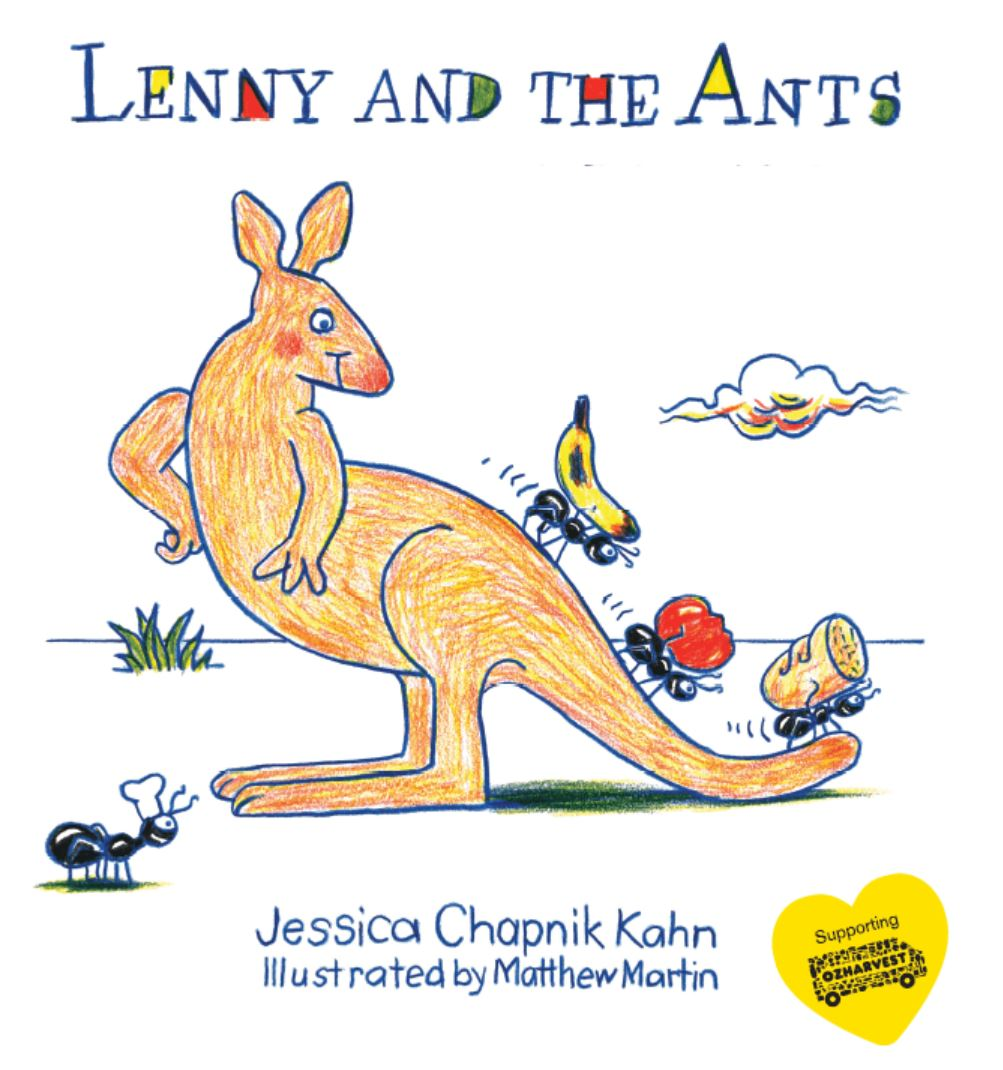 Lenny and the Ants Book