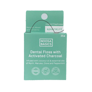 Dental Floss with Activated Charcoal