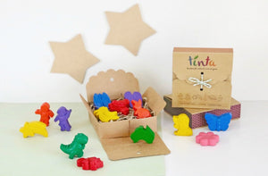 Handmade Natural Wax Crayons