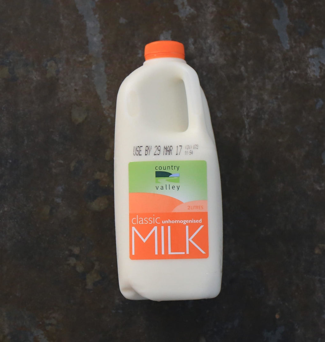 Unhomogenised Milk 2L