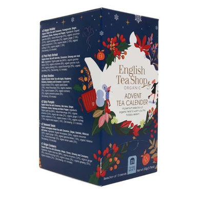 Organic Advent Calendar Tea Box
