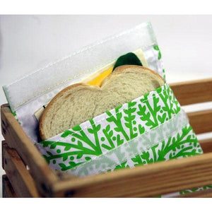 Reusable Fabric Sandwich Bags