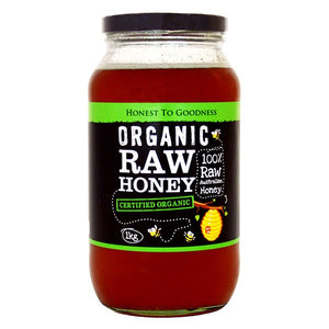 Organic Raw Honey - Australian